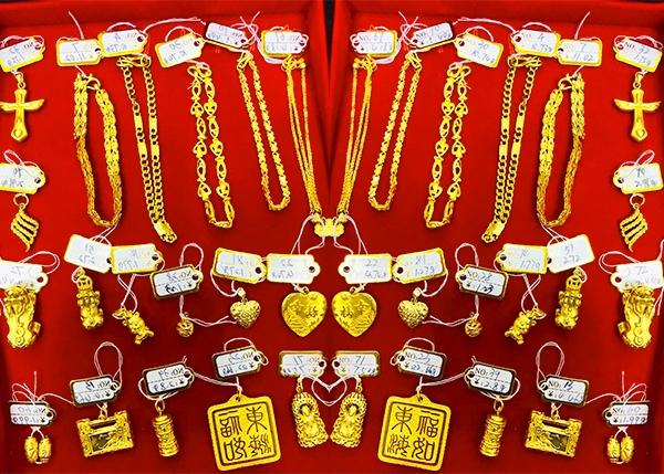 黄金手链吊坠回收